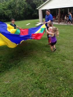 Kids-parachute